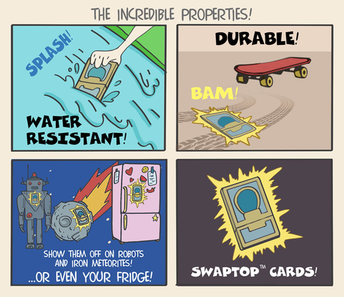 The Incredible Properties of Swaptop Cards