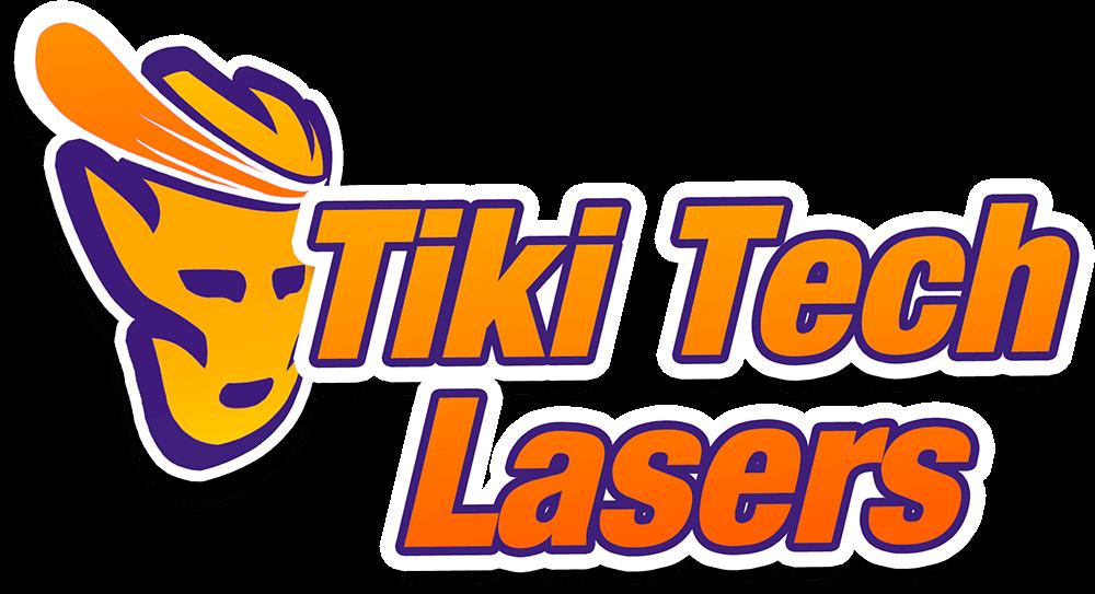 Tiki Tech Lasers Swaptop Deck